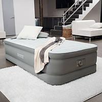 Надувная кровать односпальная с встроенным электронасосом 220В 99х191х46