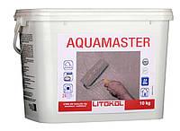 Гидроизоляция готовая однокомпонентная Litokol Aquamaster (аквамастер) 20 кг, (внутр/наруж), фото 1