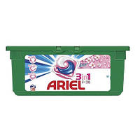 Капсулы для стирки 3в1 Ariel Touch of Lenor (28 шт) универсальные