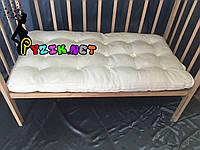 Матрас стеганный в детскую кроватку 120х60х10 см., фото 1