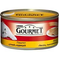 Gourmet (кролик и печень) кусочки в паштете 195 гр.