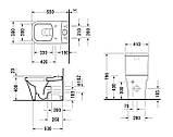 Унитаз Компакт Duravit P3 Comforts, фото 3