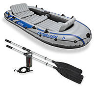ЛодканадувнаяIntex 68325 Excursion 5Set (насос, весла)