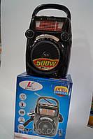 Портативная колонка Knstar FP 1302RC, приемник-фонарь, аудиотехника, электроника, радиоприемники