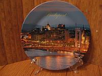 Тарелка сувенир Будапешт