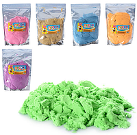 Песок для творчества kinetic sand  1000г в кульке 20х29х4 см Живой песок