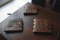 Мужской кошелек. Кожаный бумажник Bailini, фото 3