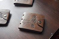 Мужской кошелек. Кожаный бумажник Bailini, фото 4