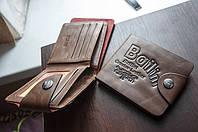 Мужской кошелек. Кожаный бумажник Bailini, фото 2