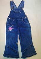Комбинезон детский для девочки джинсовый