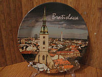 Тарелка сувенир  Братислава
