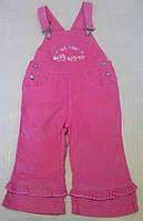 Комбинезон детский вельветовый розовый