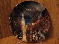 Тарелка сувенир Амстердам 2