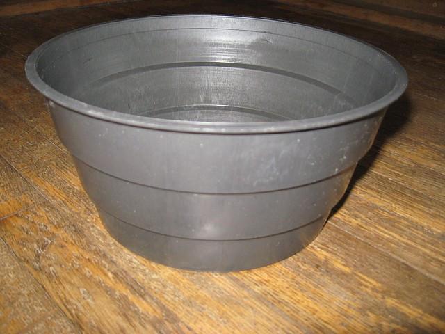 Горшок  миска 2 литра теракот