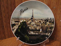 Тарелка сувенир Париж