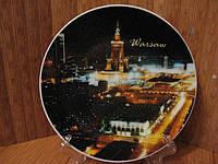 Тарелка сувенир Варшава