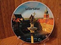 Тарелка сувенир Варшава 2