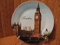 Тарелка сувенир Лондон