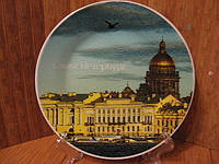 Тарелка сувенир Санкт- Петербург