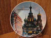 Тарелка сувенир Санкт- Петербург 2