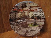 Тарелка сувенир Лиссабон
