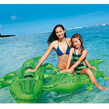 Надувной плот Intex 58546 крокодил 168 х 86 см, фото 5