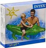 Надувной плот Intex 58546 крокодил 168 х 86 см, фото 6