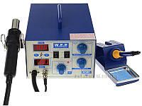 Термоповітряна паяльна станція W.E.P 872D+ 100-480°C/100-480°C 75W HAKKO °C/°F 2LED
