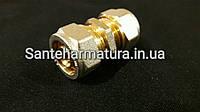 Муфта для металлопластиковых труб 20-20