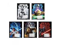 Тетрадь в клетку 12 листов Star Wars Jedi Knight 1 Вересня, А5
