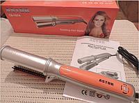 Плойка щипцы - утюжок для волос «Astor TA-1074». Стайлер.