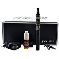 Электронная сигарета в подарочной коробке CE6 1100мАч Black EC-008(магазин электронных сигарет)