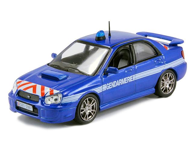 Полицейские Машины Мира №4 Subaru Impreza   Колекційна модель 1:43   DeAgostini