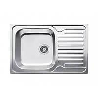 Кухонная мойка оборачиваемая с   рабочей площадкой из нержавейки Fabiano  78x50 Microdecor