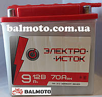 Аккумулятор АКБ 9А заливной для МТ-ИЖ