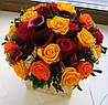 Букет из живых цветов
