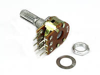 Резистор переменный WH148-1B-2 B 470кОм 6 pin прямой