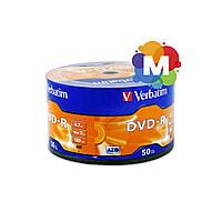 VERBATIM DVD-R 4,7Gb 16x Wrap 50 pcs