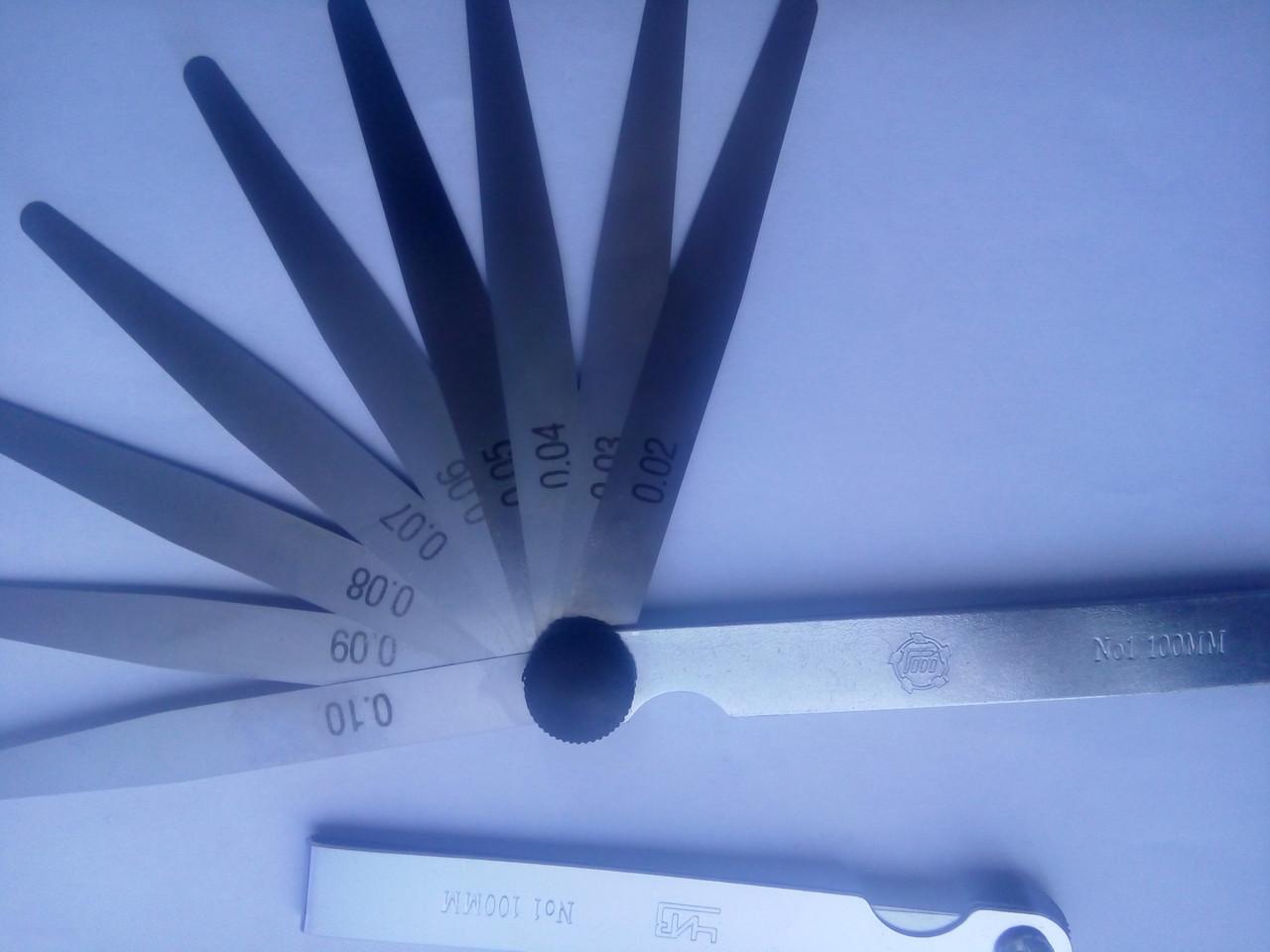 Наборы щупов №1 L100мм  ГОСТ882-75,возможна калибровка в УкрЦСМ.