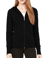 Кофта Bella + Canvas Women's Stretch French Terry Lounge Jacket Black