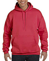 Кофта Hanes® Ultimate Cotton® Adult Pullover Hood Sweatshirt Deep Red