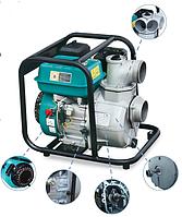 Мотопомпа четырехтактная Aquatica LEO LGP20-A, 4квт, Hmax 30м, Qmax 30 м³/ч