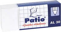 Ластик PATIO для мелков и карандашей белый AL-30