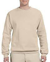 Кофта Jerzees® NuBlend® Fleece Crew Sandstone