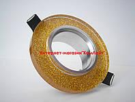 Точечный светильник встраиваемый CTC-AB 2520 цвет золото + серебро