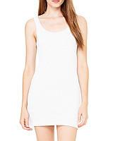 Плаття Bella + Canvas Women's Jersey Tank Dress White