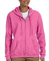 Кофта Gildan® Heavy Blend™ Full Zip Hooded Sweatshirt Azalea