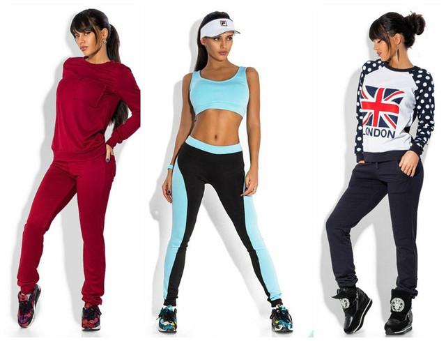 Купить женский спортивный костюм - интернет магазин
