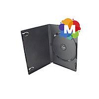 Бокс DVD для 1 диска 7 мм черный глянцевый