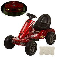 Детский Электромобиль Карт M 1558 ERS-3 Автопокраска EVA колеса красный